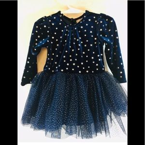 Baby Girl's Long Sleeve Dress Layers Tulle Skirts